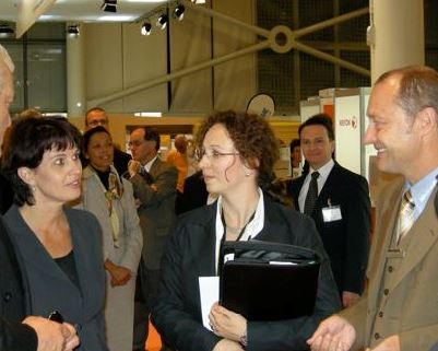 Bundesrätin Doris Leuthard  – Top Level Account Management