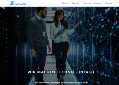 Cloud Services – Re-Positioning – Securebit AG
